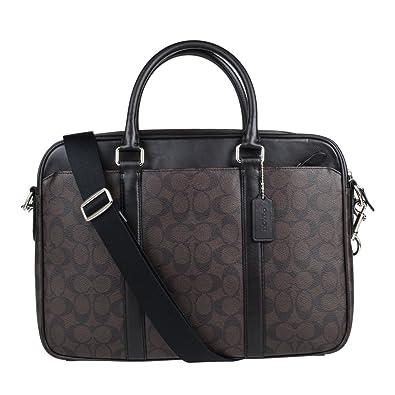 Coach Mens Shoulder Inclined Shoulder Handbag F54803 (Dark brown MABR) 3ded939903731
