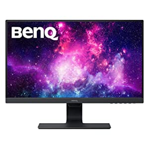BenQ 24 Inch IPS Monitor | 1080P | Proprietary Eye-Care Tech | Ultra-Slim Bezel | Adaptive Brightness for Image Quality | Speakers | GW2480 Black