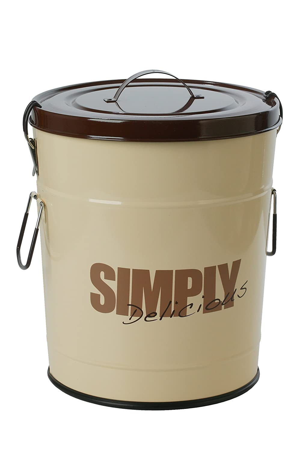 One for Pets 1106-BR-S Simply Delicious 17.6 lbs 8kg Food Can, Brown