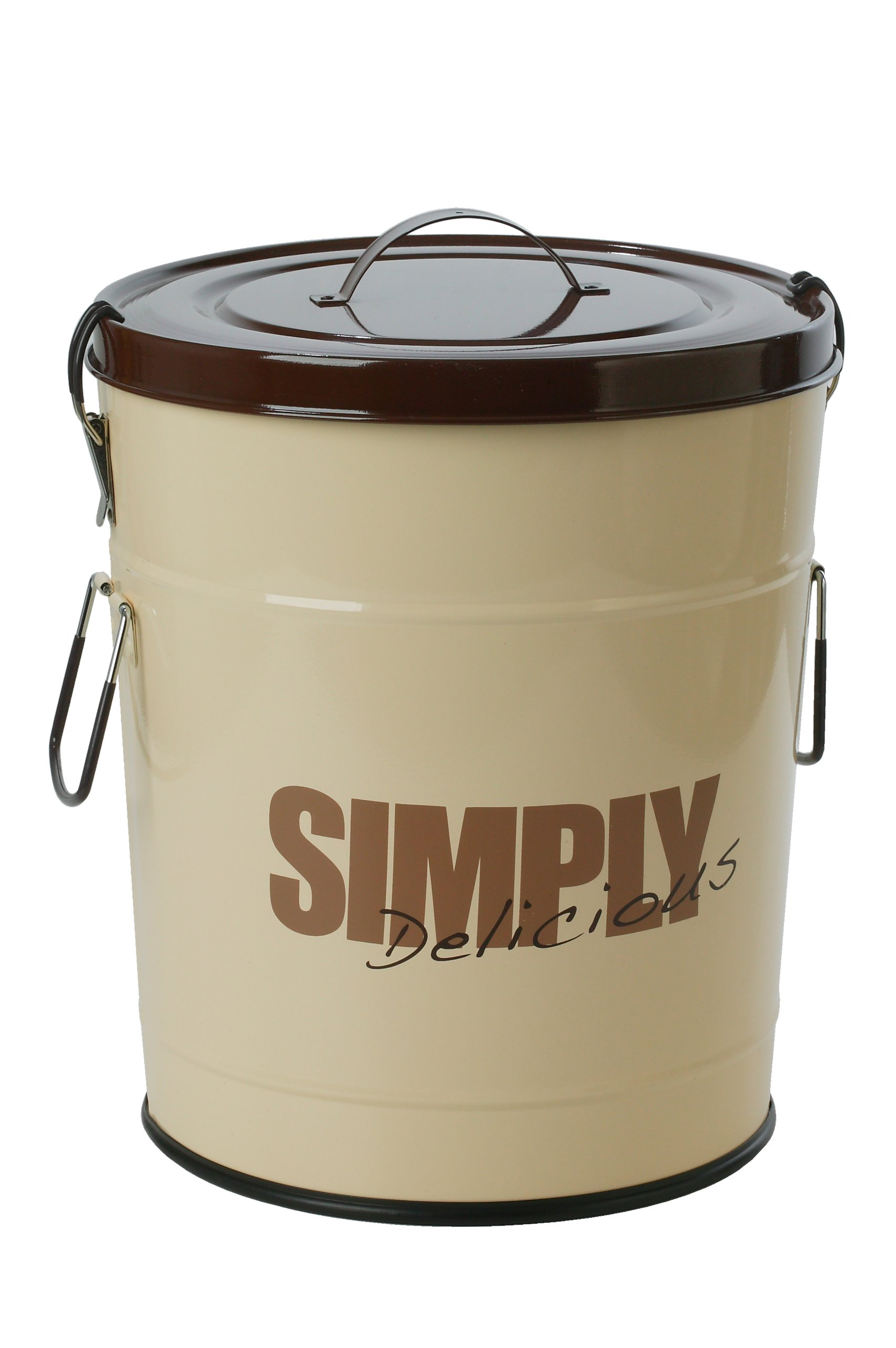 One for Pets Simply Delicious Dog Food Container, 17.6-Pound, Brown