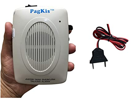 PagKis Plastic Water Tank over Flow Alert Alarm Sound System Overflow Bell