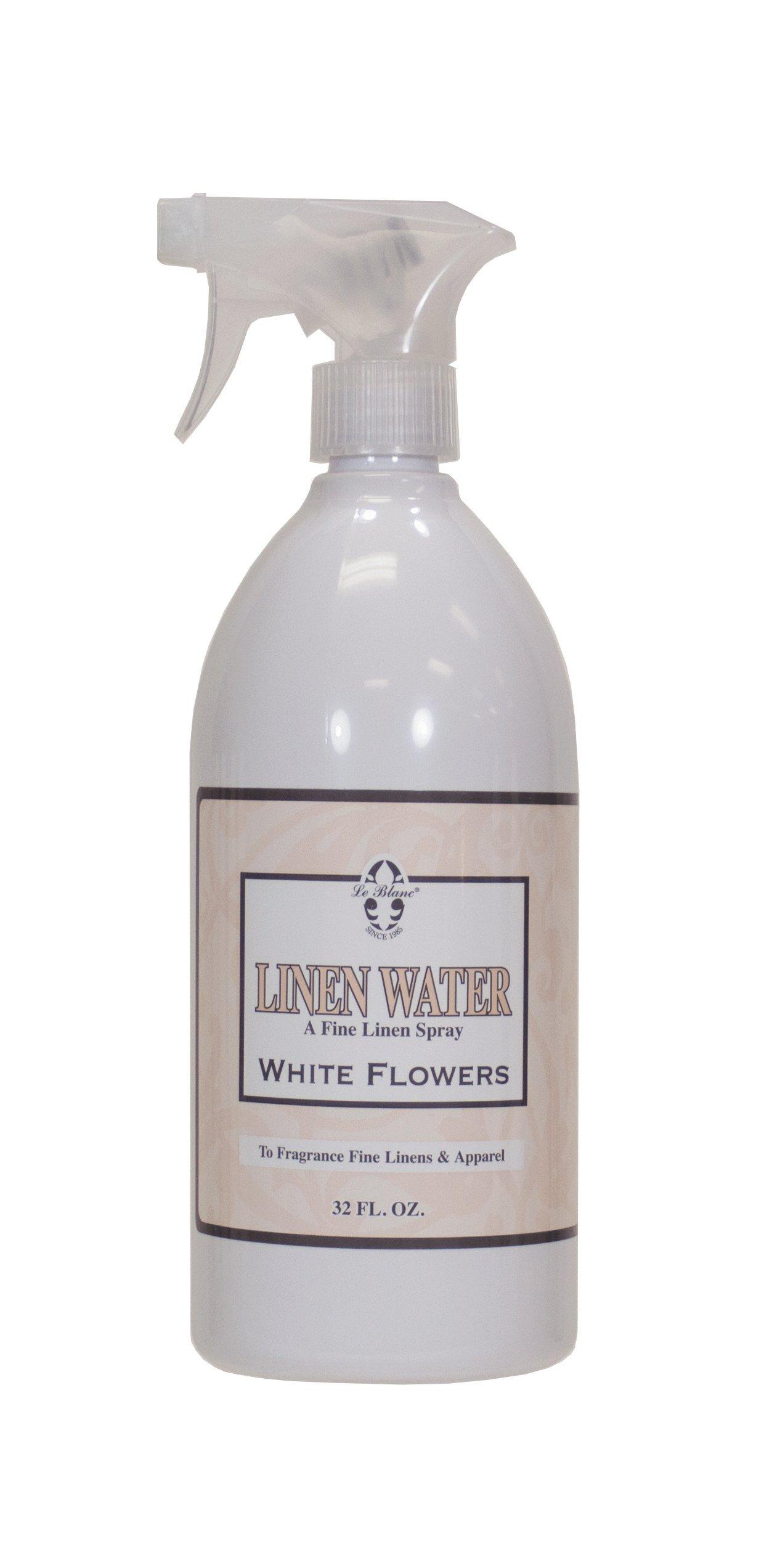 Le Blanc® White Flowers Linen Water - 32 FL. OZ, 9 Pack