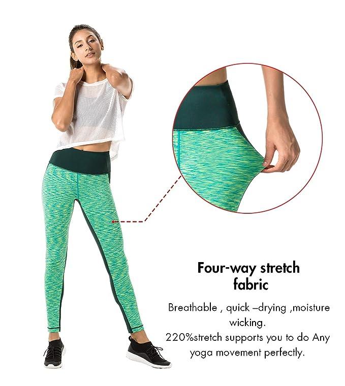 Lapasa L01 Women's Leggings Yoga Sport Pants Long High Waist 1 To 2 Pack by Amazon