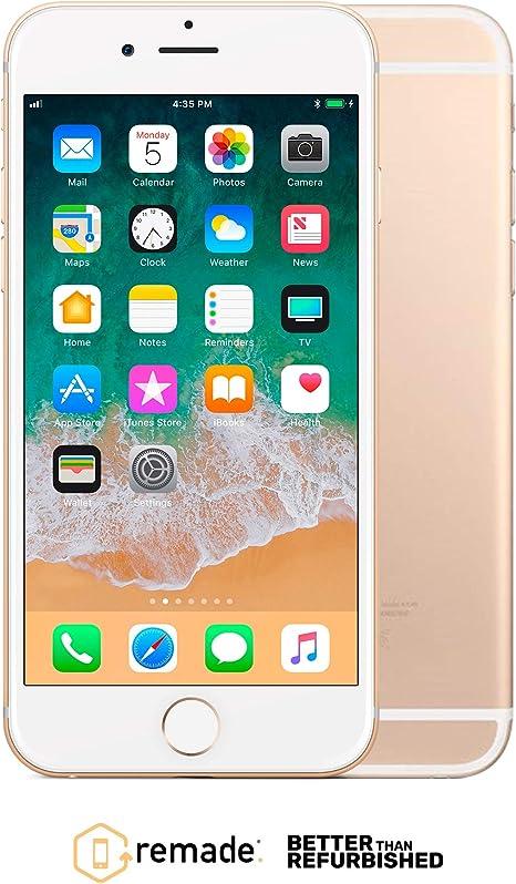 "Apple iPhone 6 64GB Oro 4.7"" Remade iOS Smartphone Reacondicionado ..."