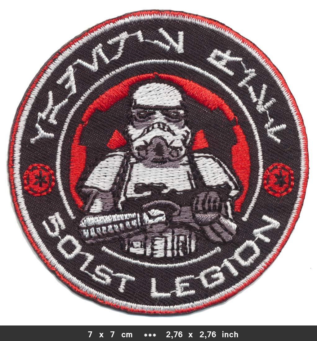 RG20 Star Wars Patch Aufn/äher Aufb/ügler B/ügelbild 501st Legion TURBOVERSAND