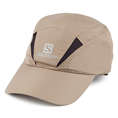 5908351215780 Salomon Hats XA Baseball Cap with Neck Protector - Beige Beige Large ...