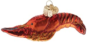 Old World Christmas Crab and Lobsters Glass Blown Ornaments for Christmas Tree Crawfish