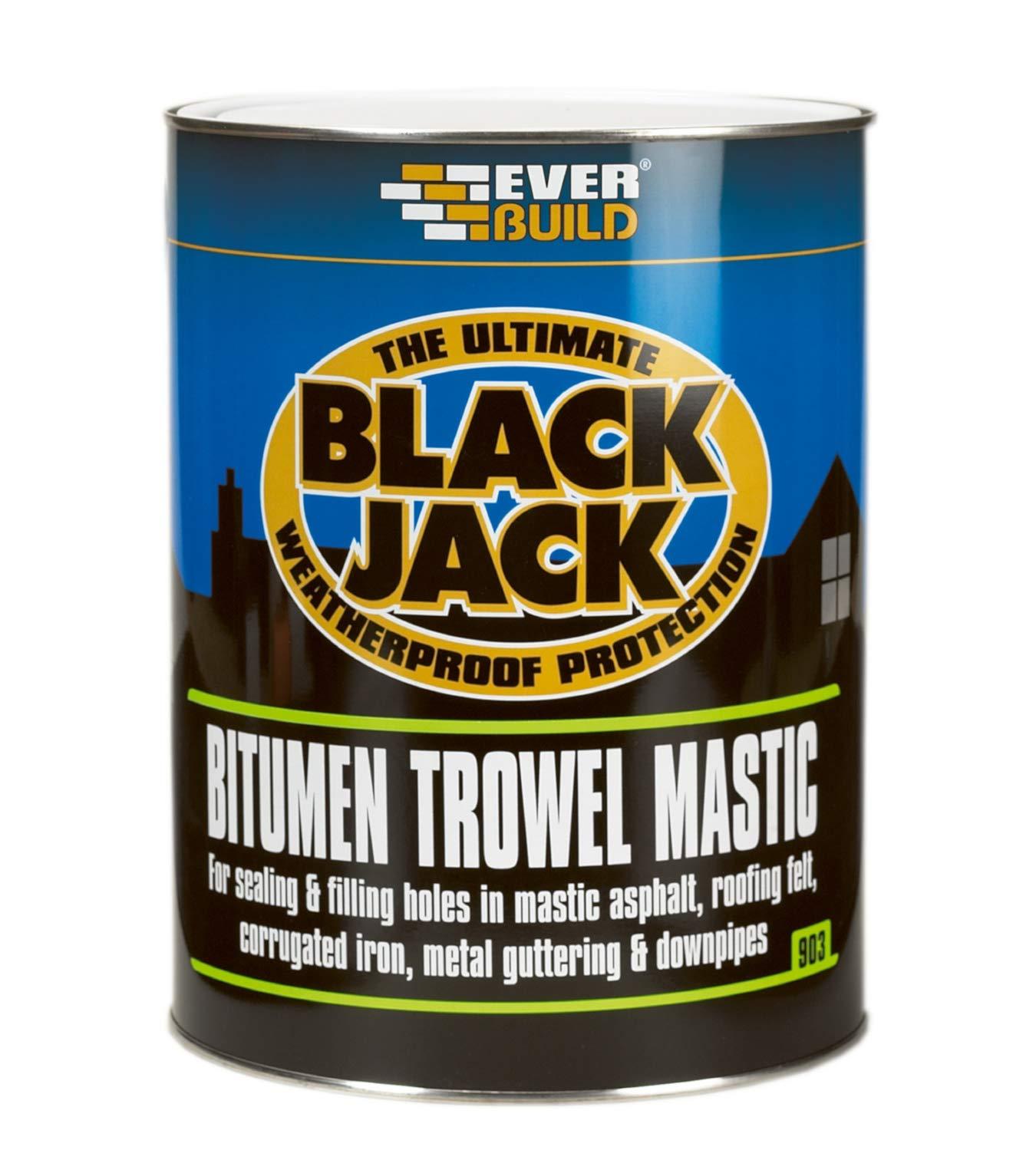 903 Bitumen Trowel Mastic 1L Everbuild