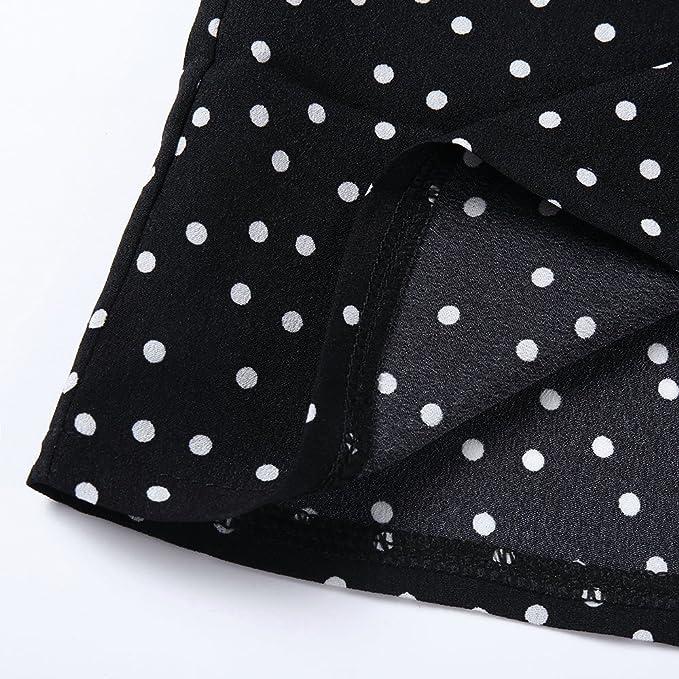 Amazon.com: POTO Shirts for Women Clearance,V-Neck Polka Dot Print Long Sleeve Tops Blouse T-Shirts: Clothing