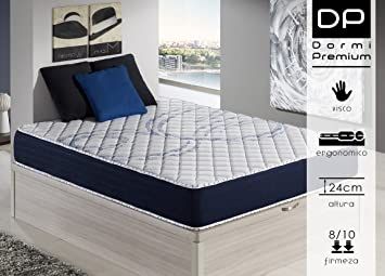 DormiPremium COLCHÓN VISCOELASTICO Dallas Confort 135X190 Altura 24 cm, (3cm visco): Amazon.es: Hogar