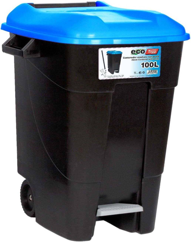 Tayg 421020 Cubo con Tapa, Azul