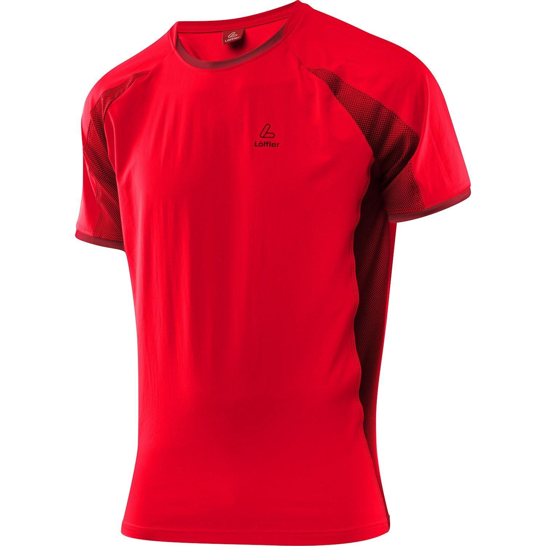 Löffler Running Shirt Hotbond - red