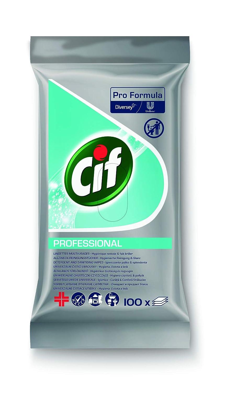 Cif Professional - Toallitas de limpieza multiusos (100 unidades ...