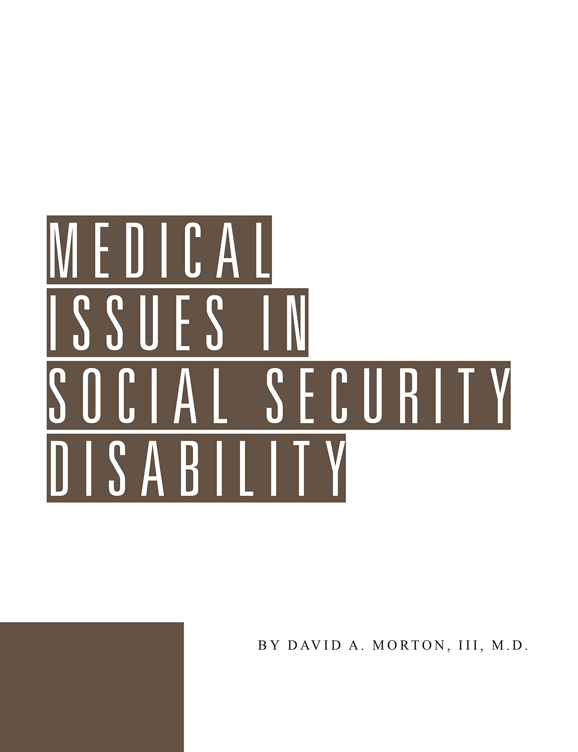 Medical Issues in Social Security Disability ebook