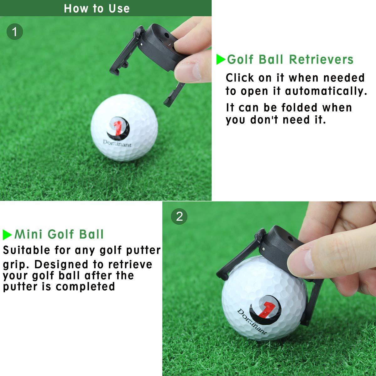 Amazon.com: Saprex - Juego de 5 pelotas de golf plegables de ...