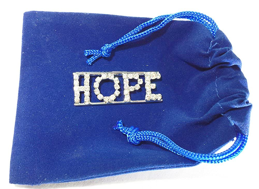 Detti Originals Personalized Rhinestone Hope Name//Magnet Back