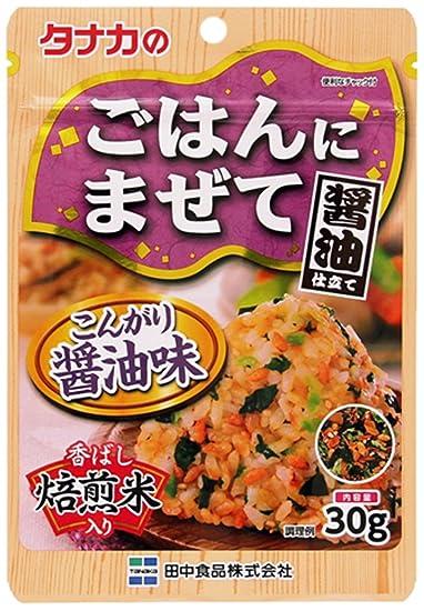 30gX10 piezas de oro mezcla de salsa de soja marroen Tanaka arroz