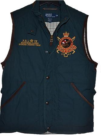 Polo Ralph Lauren Men's Quilted Vest Bodywarmer Jacket Coat M at ... : mens quilted sport coat - Adamdwight.com