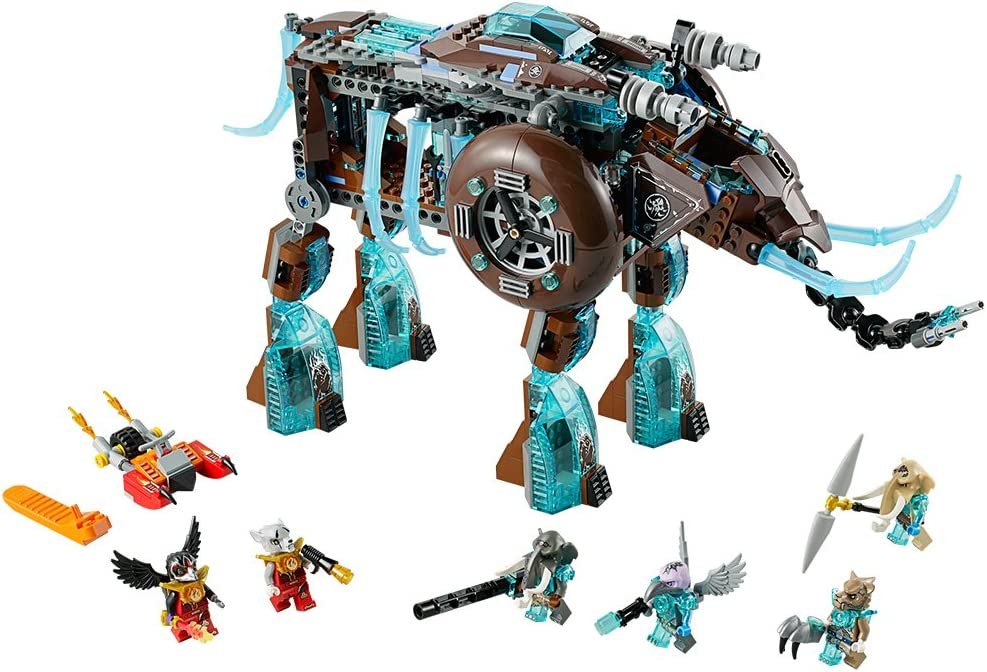 LEGO Legends Chima Maulas Ice Mammoth Stomper 70145 by LEGO