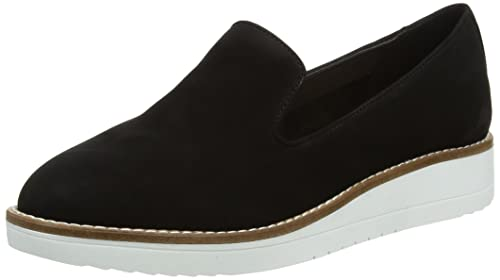 Aldo Stephona, Mocasines para Mujer, Grey (Black Nubuck), 39.5 EU: Amazon.es: Zapatos y complementos