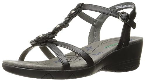 49b4dfd700 Baretraps HAMMOND Women's Sandals Black Size 5.5 M (BT23228): Amazon ...