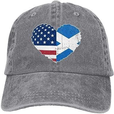 HomePink Gorra de béisbol para Hombres y Mujeres, Escocia EE. UU ...