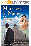 Marriage In Name Only (English Edition)