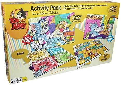 Other Tom y Jerry Actividad Pack Rompecabezas y Juegos de Mesa: Amazon.es: Deportes y aire libre