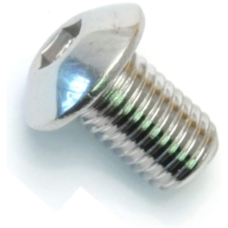 Hard-to-Find Fastener 014973441579 5//16-24 x 1//2 Button Head Socket Cap Screws 8 Pieces