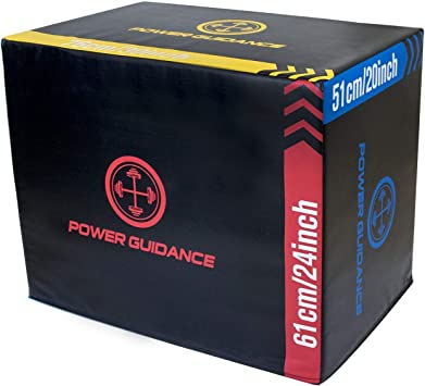 POWERGUIDANCE 3 en 1 Soft plyo Boxes 76 * 61 * 51cm ...