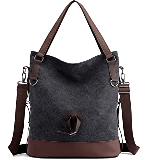 Tom Clovers Canvas Crossbody Messenger Tote Weekender Fashion Bag