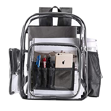 Clear Transparent PVC School Backpack 48808a966410d