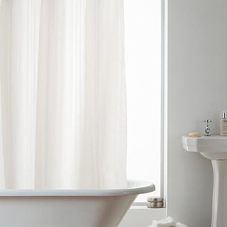 Hookless Shower Curtain In Stripe