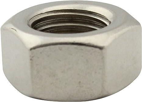 rostfreier Edelstahl A2 | SC934 50 St/ück Sechskantmuttern DIN934 V2A | M5 Standard SC-Normteile