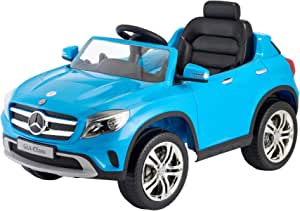 Mercedes GLA Class Electric Ride-On Car for Kids - Blue