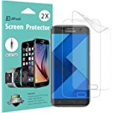 Galaxy S7 Edge Screen Protector, [Full Coverage], JETech SOFTOUGH 2-Pack TPE Ultra HD Screen Protector Film for Samsung Galaxy S7 Edge