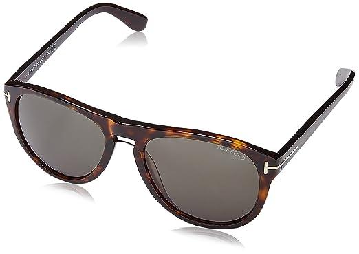 e024735d5b Tom Ford Sunglasses - Kurt   Frame  Havana Lens  Green at Amazon ...