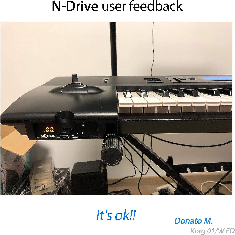 Nalbantov N-Drive 100 un emulador de disquetera USB para KORG 01WFD, 01W