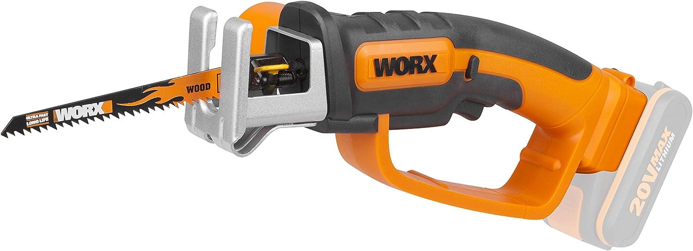 Worx Wg894e.9 serrucho multifunción 16mm 20v, 0 W, 20 V, Negro, Naranja