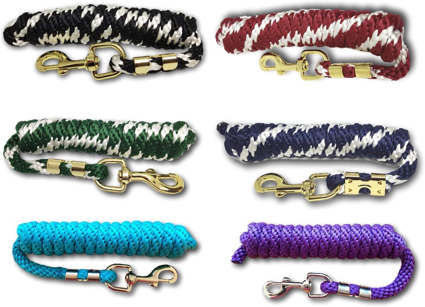 Pfiff–Ramal para Caballo–Correa Trenzada para Caballo en diseños Diferentes de stylischen Designs, Cuerda para, anbinde Cuerda Pony, Burro, Cabra