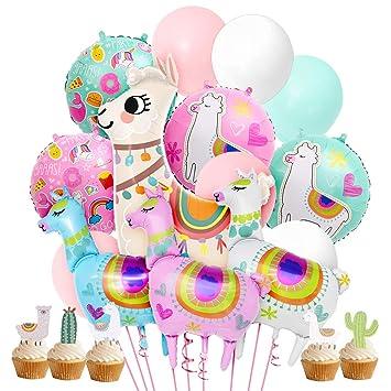 Kreatwow Llama Decoraciones para Fiestas Suministros para ...