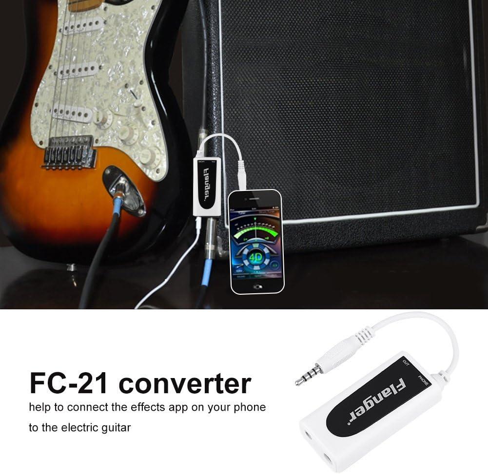 Gitarreneffekte Gitarren Verbindungs Audio Interface System Konverter Adapter ne