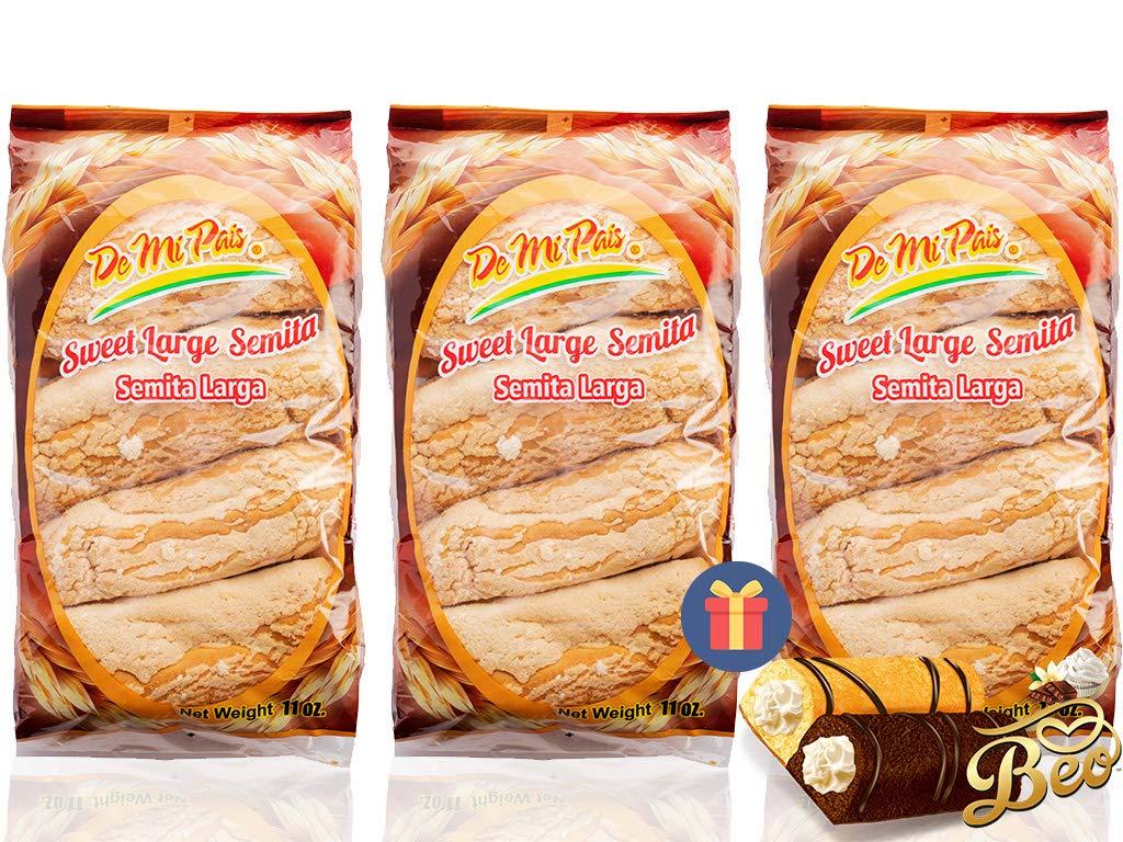 DMP Semita Larga / Long Sweet Bread 6-PACK - 1 FREE BEO GIFT