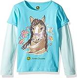 John Deere Girls 2 for Tee Long Sleeve T-Shirt