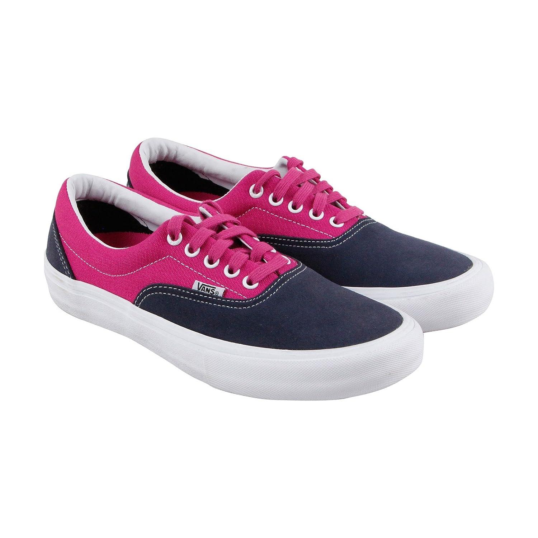 Amazon.com | Vans Era Pro Sneakers Navy/Fuchsia Mens 10 | Fashion ...