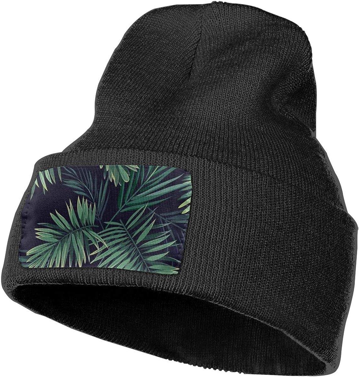 100/% Acrylic Acid Mas Beanie Hat Ruin Plant Fashion Knitting Hat for Men Women