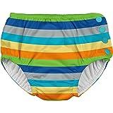 アイプレイ iplay オムツ機能付 水遊び用パンツ スイムダイパー スイミングパンツ 男の子 L:18ヶ月 Gray Multistripe
