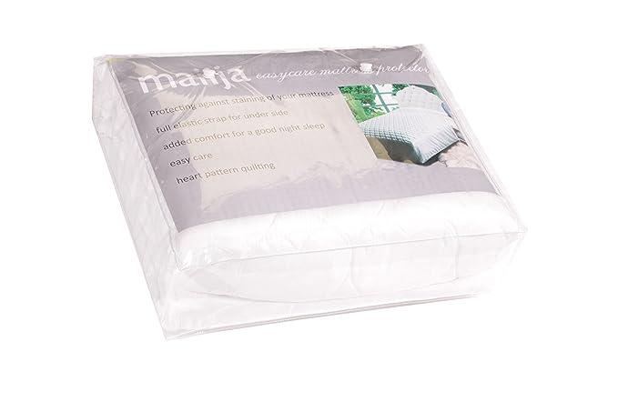 Amazon.com: maiija Easycare Protector de colchón con Full ...