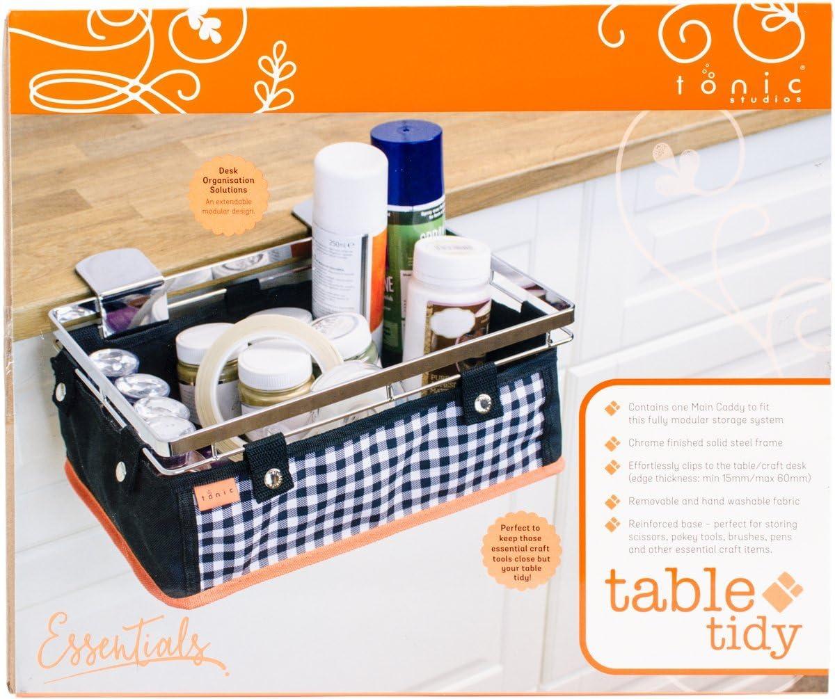 Polyester Multicoloured Tonic Studios Table Tidy-main Caddy 26 x 31 x 13cm