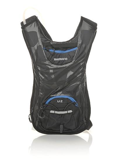 Mochila de hidratación Shimano Unzen 2 litros negro/azul 2015